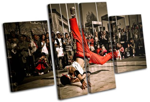B-Boy Break Dancer Urban - 13-1817(00B)-MP17-LO